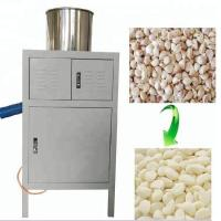 Quality Stainless Steel Commercial Garlic Peeler , 30kg / H Dry Garlic Peeling Machine for sale