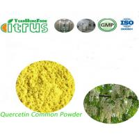 Quality Activated Organic Quercetin Powder 95.0% HPLC Yellow Powder For Allergies for sale