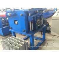 Quality Professional Downpipe Roll Forming Machine Hydraulic Cutting Type 0.25-0.8mm Thickness for sale
