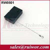 Quality Market Purchase Retractable Retail Security CableWith Ring Terminal 7.1x4.5x2.1 Cm for sale