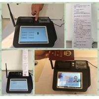 Quality Multi Language Mobile Payment Solutions , Wireless Payment Terminal  for Credit Card Merchant Services for sale