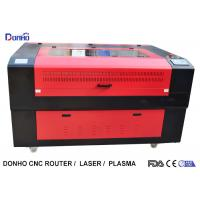 Quality Red Protective Cover CO2 Laser Cutter , CNC Laser Cutting Machine For Acrylic for sale