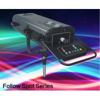 Quality Professional Follow Spot Beam Light , 1200w Wedding Stage Lighting With Support And Flight Case for sale