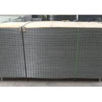 Quality 4X4 Electro Galvanized Welded Wire Fence Panels For Buliding , Wear Resistant for sale