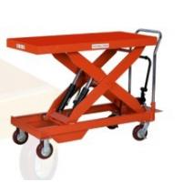 Quality Stationary Small Manual Hydraulic Lift Platform For Car Wash / Maintenance for sale
