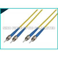Quality LC - LC Simplex Fiber Optic Patch Cables Single Mode 1.6mm LSZH Jacket Material for sale