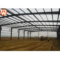 Quality High Strength Prefabricated Steel Structure Warehouse Waterproof And Fireproof for sale
