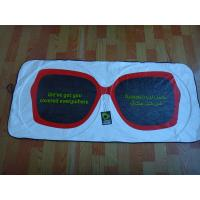 Quality Sunglasses Tyvek Car Sunshade/Front Car Sunshade with Colorful Printing for sale
