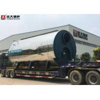 95 °C Compact Structure Gas Hot Water Boiler For Multi Industrial