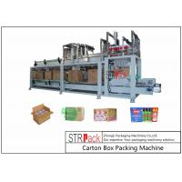 Quality Bottle Carton Case Packer Machine For Lubricating Oil / Aerosol Products Filling Line for sale