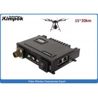 Quality Multicast UAV Network IP MESH 20km LOS Mobile-Networked MIMO Wireless Communication Systems for sale