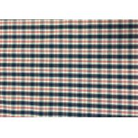 Quality Plaid Awning / Bedding / Curtain Custom Printed Fabrics 110-130gsm for sale