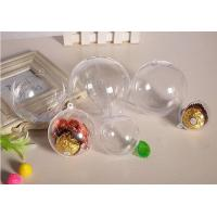 Quality plastic environmental protection candy chocolate DIY wedding decoration packaging for sale