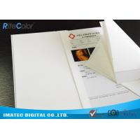 Quality White Medical Imaging Film , Opaque Inkjet Medical PET X - ray Film for sale