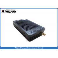 Quality 100 - 1000mW Mini Video COFDM Transmitters For UAV / UGV Long Distance for sale