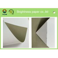 250gsm 0.31mm Printed Cardboard Sheets , Recycled Mixed Pulp A4 Cardboard Paper