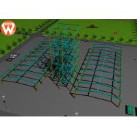 Quality Light Steel Prefab Auxiliary Equipment Steel Warehouse For Animal Feed Plant for sale