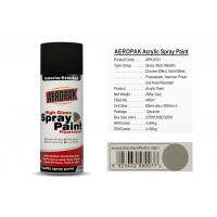 Quality Ship Grey Car Spray Paint 400ml Volume SGS For Building / Furniture for sale