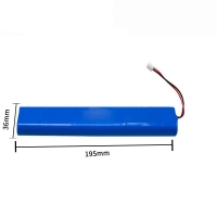 Quality 500 Cycle 14.8V 7000mAh Lithium Ion Battery CC CV MSDS for sale