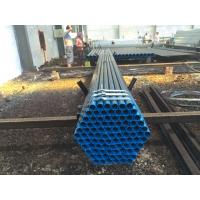 Quality BS1387 ASTM A53 Welded Steel Pipe / Low Pressure Gas Pipe SCH160 XXS for sale