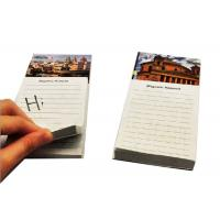 Buy cheap Wood Free Personalized Memo Pads 126 Mm * 76 Mm Fridge Magnet Notepad from wholesalers