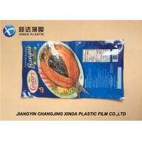 Quality Ny PE Vacuum Frozen Plastic Food Packaging Bags 29x31cm 88mic for sale