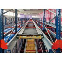 Quality Aceally Heavy Duty Radio Shuttle Racking Pallet Storage System for sale