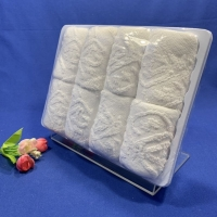 Quality Embossed Decent Airline Jacquard Towel for sale