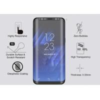 Quality Scratch Resistant 3D Curved Tempered Glass Screen Protector Samsung Galaxy S8 for sale