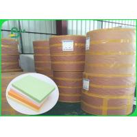 Quality FSC Pure Wood Pulp Colored Green Offset Printing Paper Color Designated 70CM 100CM for sale