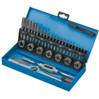 Quality 32PCS Professional Engineering Metric Tap and Die Sets with Alloy Steel / HSS for sale
