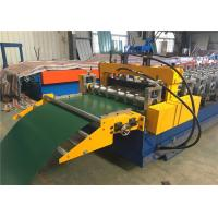 China Electric Control Garage Door Roll Former , Rolling Shutter Roll Forming Machine on sale