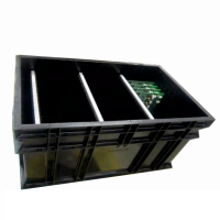 Quality PP Plastic 1.5KG 10e9 Ohms Antistatic Circulation ESD Tray for sale