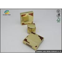 China Coated Paper Cosmetic Packaging Box Embossing Finish For Skin Care Products on sale