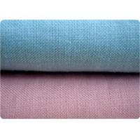 Quality Blue / Pink 100% Ramie Fabric Home Furnishing Fabric 21* 21 52 *58 for sale