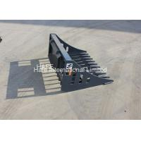 China Powerful Skid Loader Attachments Hydraulic Shovel Sieve 72 84 1350mm Length on sale