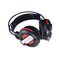 Quality Stereo gaming headset noise cancelling With gold-plated pins / USB Interface for sale