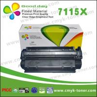 Quality C7115X HP Black Toner Cartridge HP LaserJet 1000 With ISO and SGS for sale