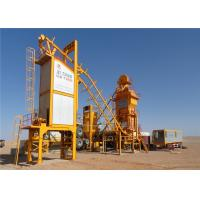 Quality 120 ~ 160t / H Mobile Asphalt Mixing Plant Compact Structure Modular Design for sale