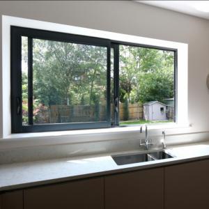 Quality Aluminium windows aluminium frame sliding glass window aluminium window grill design for sale