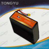 Quality 16000mAh UAV 6S 22.2V  20C LiPo RC Battery Pack Light weight for sale