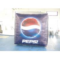 Quality Cube Branded Helium Balloons Inflatable Square Balls UV Resistance for sale