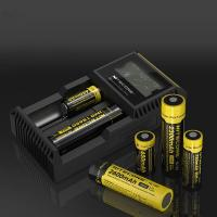 Quality wholesale aa battery charger li-ion mini max power battery charger nitecore D2 D4 12v 18650 battery charger for sale