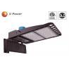 Arm Mounted LED Shoebox Pole Light 600W  26000lm 5700K With High Light Efficiency