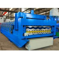 Buy cheap Automatic Roofing Sheet Roll Forming Machine Double Layer Corrugated For Building from wholesalers