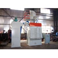Quality Smart Size Automatic Shot Blasting Machine With Rubber Belt Easy Operation for sale