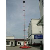 Quality Single Ladder Anti - Rotating Hydraulic Work Platform With Telescoping Lift GTTY-25B for sale