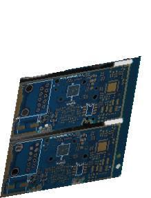 Quality Green 2.20mm Rigid High Density PCB FR4 Tg150 Smt Pcb Assembly for sale