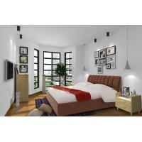 Buy Cheap Apartment Furniture Space Saving New Residence Bedroom Fabric Upholstered at wholesale prices
