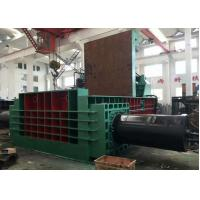 Quality 800t dual drive hydraulic pressing scrap metal steel baling PLC control automatic baler for sale
